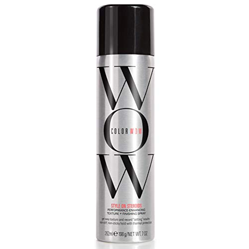 COLOR WOW Style on Steroids Performance Enhancing Texture & Finishing Spray, 7 Oz