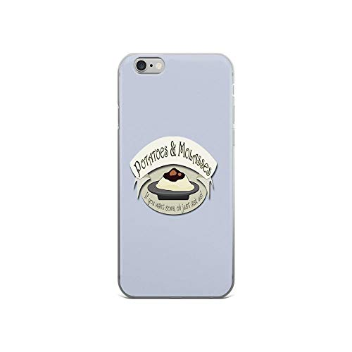 iPhone 6 Case iPhone 6s Case Clear Anti-Scratch Potatoes and Molasses, Cartoon Cover Phone Cases for iPhone 6/iPhone 6s, Crystal Clear