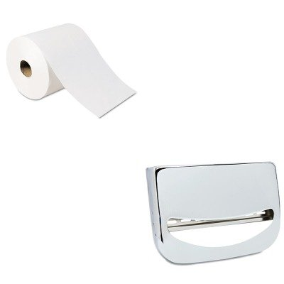 KITBWKKD200GEP26100 - Value Kit - Georgia Pacific High-Capacity Nonperf Paper Towels (GEP26100) and Stainless Steel Toilet Seat Cover Dispenser (BWKKD200) by Georgia-Pacific