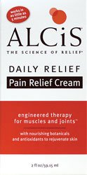 Alcis Health, Inc. Daily Relief Pain Relief Cream 3 oz (88.72 ml) Cream