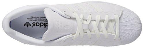 adidas Superstar W, Zapatillas de Deporte Para Mujer Blanco (Ftwbla/Ftwbla/Negbas)