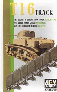- AFV Club M-3 Stuart T16 Track Link Set 1-35 by