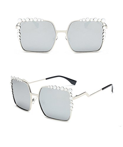 de Gafas Gafas Color sol X256 de Gafas E B Retro Redondas de sol Moda Lady Elegantes Coreana Sunglasses SwHn1