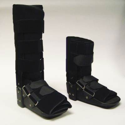 MediChoice Fixed Ankle Walker, High-Top, Foam Liner Metal-Reinforced, Small, 1314OSG6011 (Each of 1) by MediChoice