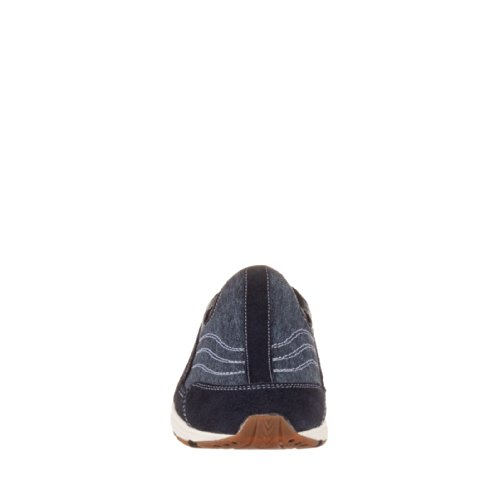 Easy Spirit Dames Reistijd Mule Navy-dark Blue-suede