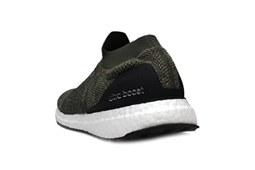 Adidas Original Mens Ultraboost Laceless Trace Carbon / Trace Carbon / Black