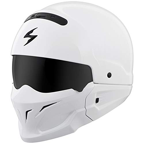 Scorpion Covert Helmet (XX-LARGE) (WHITE)