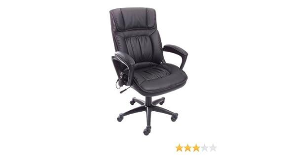 Amazon.com: Serta PureSoft Executive Massage Chair, Midnight Black: Jewelry