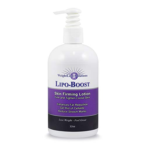 WeightLoss-Solutions Lipo-Boost, Spa Quality Firming Lotion to Firm, Tone, and Tighten Loose Skin. Lose Belly Fat, get rid of Cellulite, and reduce Stretch Marks