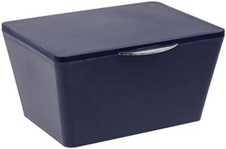 Wenko 22596100 Caja con Tapa Brasil – Cesta, baño Cesta con Tapa ...
