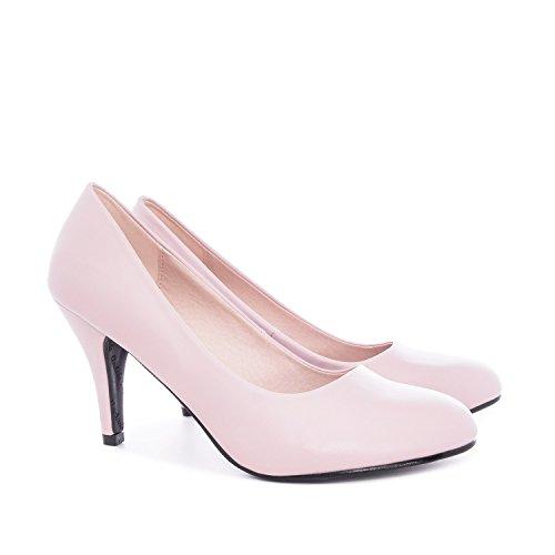 Small Größe mittel Pumps erhältlich Pink Retro und 36 Pink Soft groß Machado Andres Heel AM422 High n0HY6YB