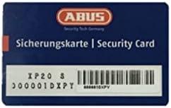 ABUS Profilzylinder XP20SN 35//50 inklusive Sicherungskarte /& 3 Schl/üsseln 73730
