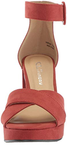 Chinese Talla Cl Rust Mujeres Casual Punta Sandalias Con Laundry By Plataforma Abierta Gala 5SSCPWqUxw