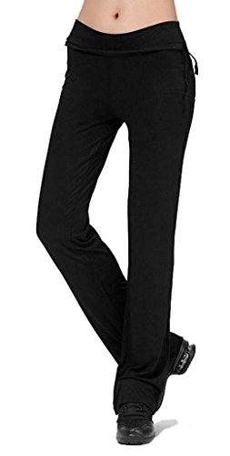 TownCat Women's Casual Yoga Pants Loose Pants Ladies Athletic Pants Comfy Leg Pants Tie Pants