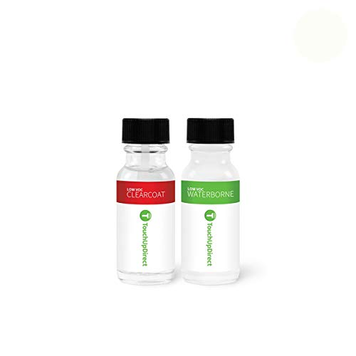TouchUpDirect for Toyota Exact Match Automotive Touch Up Paint - Super White 2 (040) (Auto Touch Up Paint Toyota)
