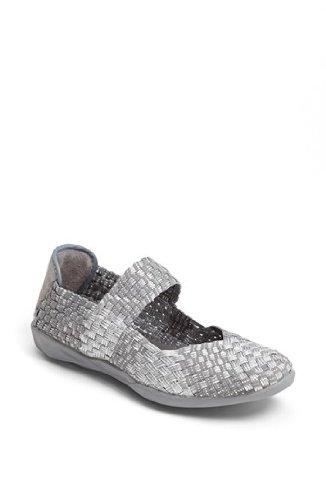Women's Bernie Mev, Cuddly Slip-on Shoe SILVER GRAY 4 M
