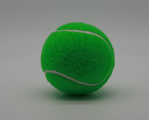 (Price's 5 Green Colored Tennis balls(5) pressureless, durable and long lasting. Made in the UK.)