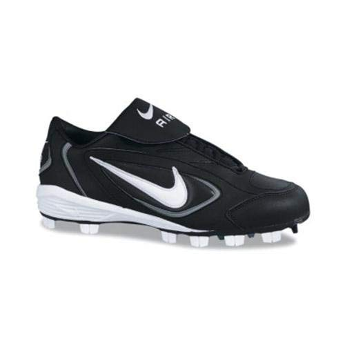 Nike Womens Air Zoom Slider Softball Cleat Black/White Size 9