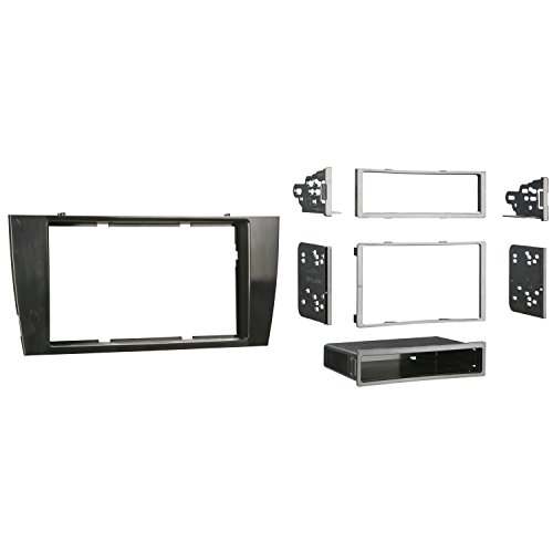 Metra 99-9501B Single or Double DIN Installation Dash Kit for Select 2001-2008 Jaguar X-Type and S-Type - Jaguar Type Accessories S