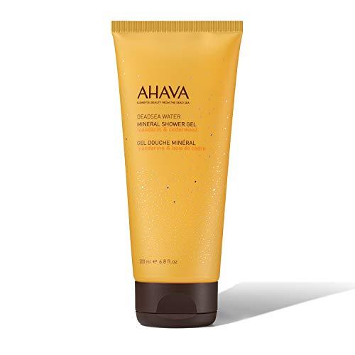 AHAVA 200 ml Mineral Shower Gel Mandarin/Cedarwood, 6.8 Fl Oz ()