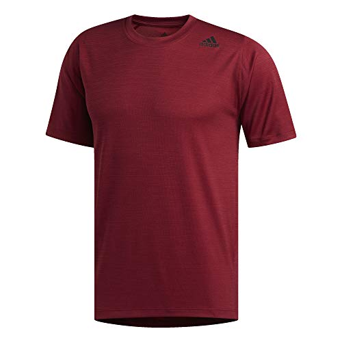 (adidas FreeLift Tech Fitted Striped Heathered Tee Men's )