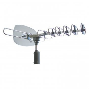 Hdtv Outdoor Antenna 360 Degree Rotating Motor 1080p Quality Reception