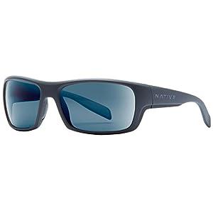 Native Eyewear Eddyline Sunglasses, Granite/Matte Black