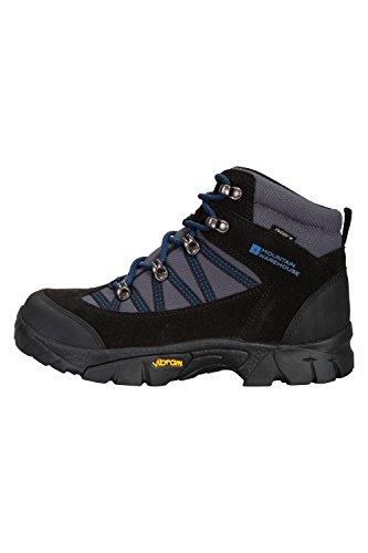 Mountain Warehouse Edinburgh Vibram Youth Botas - Niños Zapatos De Verano Cobalt