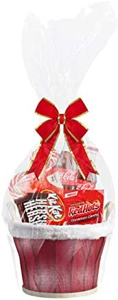 Clear Cellophane Basket Cello Baskets product image