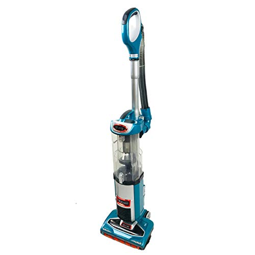 Shark DuoClean Technology Slim Upright Vacuum NV200Q HEPA Filter Powerful Lightweight with Advanced Swivel Steering, Flexi Crevice Tool and Under-Appliance Wand NV200QBL (Teal)(Renewed)