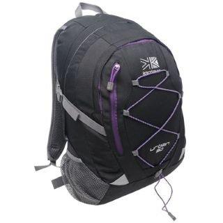 2013ec94d4 Karrimor Urban 30 Rucksack Black Purple  Amazon.co.uk  Sports   Outdoors