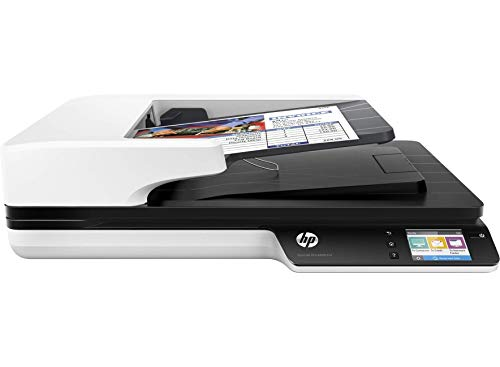 HP ipg Les Commercial Scanner (4 Scanjet Pro 4500 Fn1 30 ppm wifi (Renewed) (Hp Scanjet Mobile Scanner)