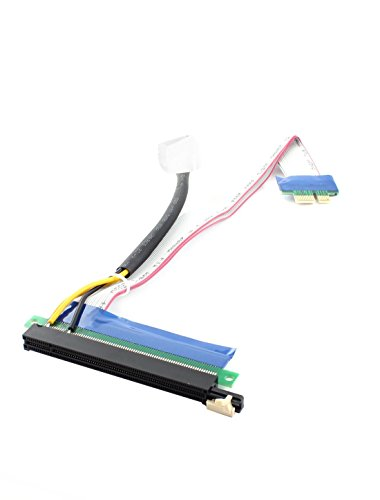 DealMux PCI Express 1x to 16x Power Socket Riser Extension Adapter Cable 335mm by DealMux (Image #2)