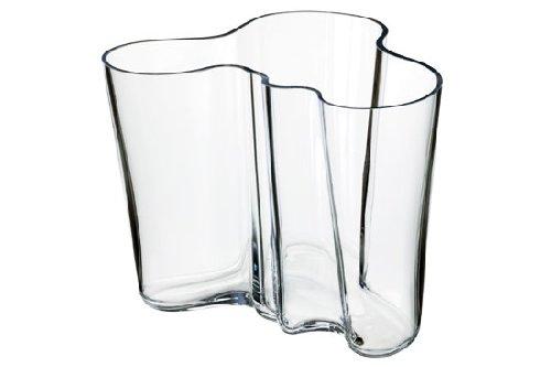 iittala Aalto Vase - Clear - Large - Iittala Aalto Flower Vase