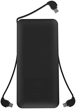 LG Stylo 3 LG Stylo 2 V Slim 10000mAh Portable Battery Charger Backup Power Bank USB Port w Built-in Cables Compatible with LG Stylo 2 Plus LG Stylo 3 Plus LG Stylo 4