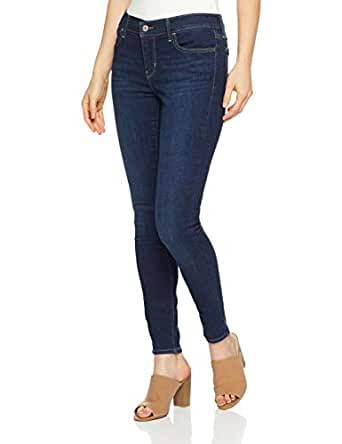 Levi's Women's 710 Super Skinny, Novelty Indigo, 24 30