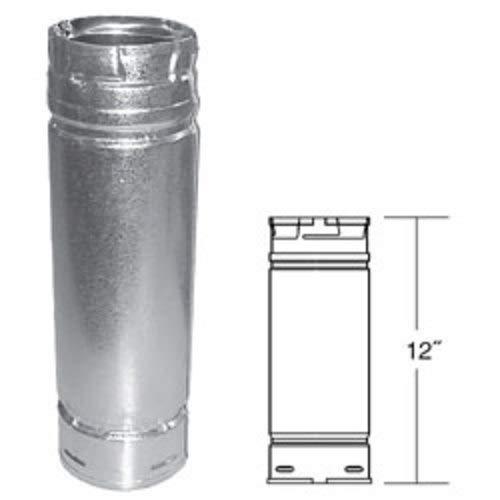 DuraVent Pellet Stove Vent Pipe - 4in. Dia. x 12in.L, Model# 4PVL-12