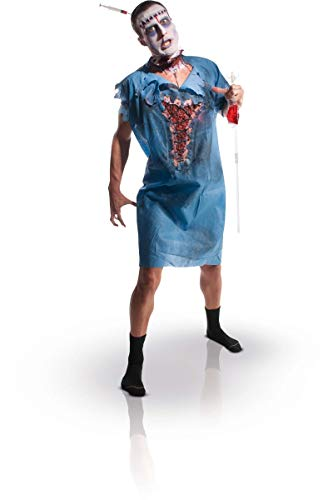 Rubie's Women's Zombie Patient Gown, As Shown, One Size
