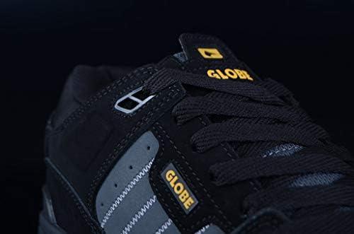 Globe Men's Fusion Skateboarding Shoes, Multicolour (Black/Night/Tequila 000), 8 UK