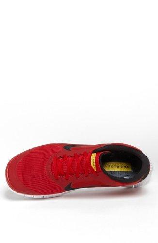new arrival 47533 103ba Nike Free 4.0 V3 Livestrong Men Shoes Gym Red  Black 586297-607 ...