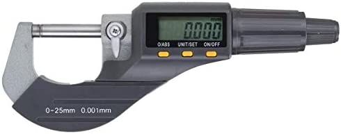 0-25mm Outside 0-1inch/0.00005inch LCD Electronic Digimatic Micrometer Professional Professional Electric part