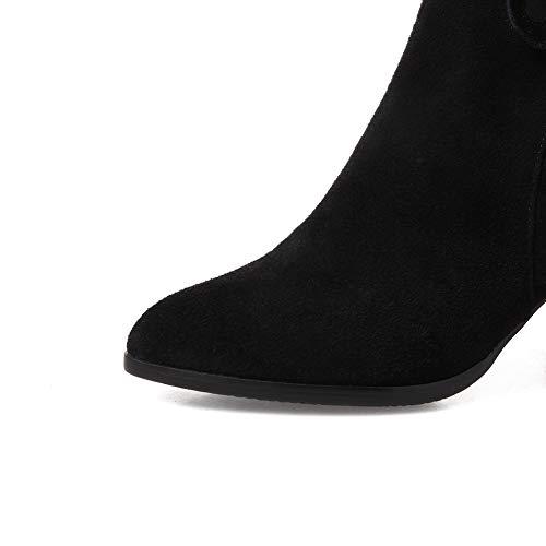 compensées Sandales An femmes Dkv02825 pour noires UEEw74xrn