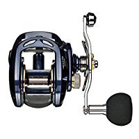 Daiwa Lexa Hyper Speed 6CRBB, 8.1:1 Right Hand Power Handle Baitcast Fishing Reel - LEXA-HD400XS-P (Daiwa Reel Baitcast)