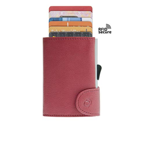 Cheshire Automatic Card Storage Wallet Red