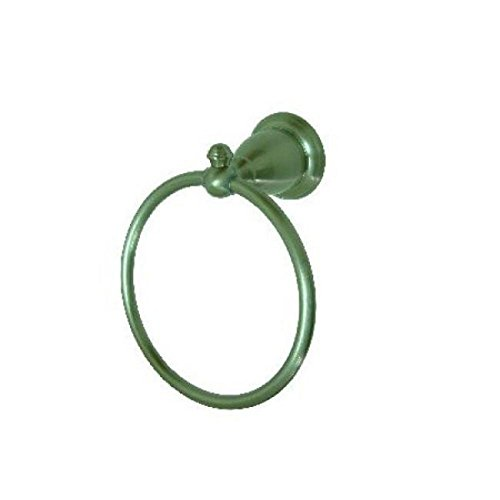 Kingston Brass BA7974SN English Vintage Towel Ring, Satin Nickel by Kingston Brass