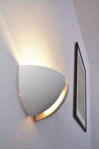 Wandlampe mit tollen Schatten, auch bemahlbar