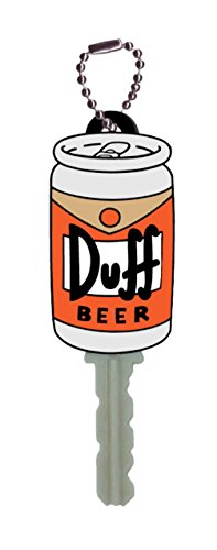 Fox The Simpsons Duff Beer Key Holder Key Ring