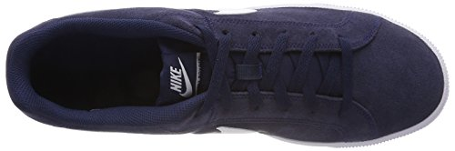 Bleu Homme Navy Midnight Royale NIKE White Court Baskets 8taO8Iq