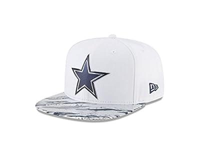 New Era 9Fifty Hat Dallas Cowboys NFL 2016 On Field Color Rush Snapback Cap