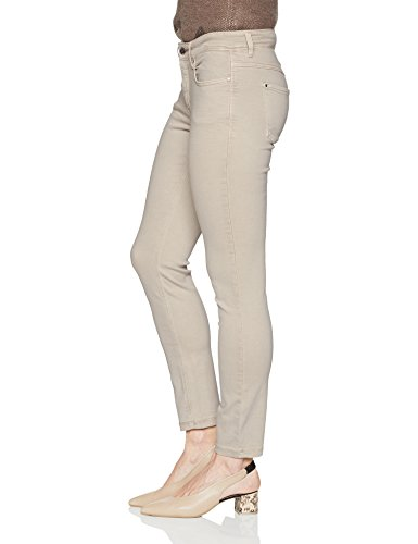 Jean Slim Jeans Beige Mac W36 Femme Uni Skinny OH5PUFx